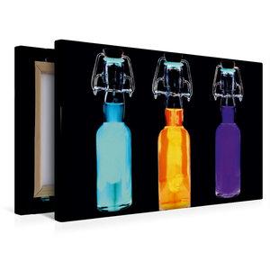 Premium Textil-Leinwand 45 cm x 30 cm quer Energie-Drink