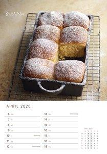 Brot backen in Perfektion 2020 - Rezeptkalender