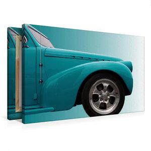 """Premium Textil-Leinwand 75 cm x 50 cm quer US-Autoklassiker \""""Ph"""