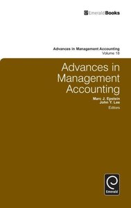 Adances in Management Accounting Volume 18
