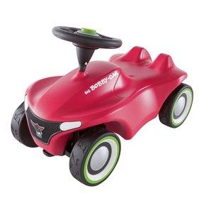 BIG 800056242 - Bobby Car, Neo Pink, Rutschfahrzeug, Rutschauto