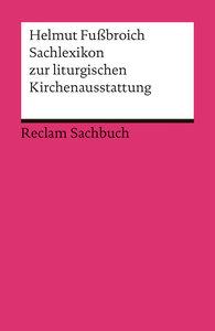 Sachlexikon zur liturgischen Kirchenausstattung