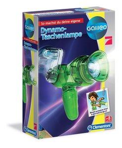 Clementoni Galileo - Dynamo Taschenlampe