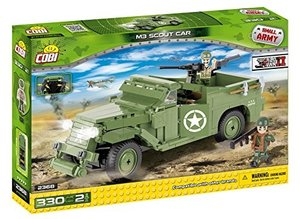 COBI 2368 - SMALL ARMY, M3 Scout Car, Transporter, WWII, Bausatz