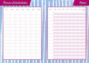 Soy Luna 17-Monats-Kalenderbuch A6 - Kalender 2018