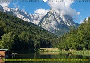 Rund um die Zugspitze (Wandkalender 2019 DIN A3 quer)