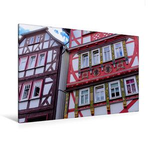 Premium Textil-Leinwand 120 cm x 80 cm quer Oberstadt