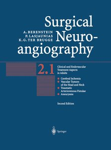 Surgical Neuroangiography 2.1/2.2.(2Bd)