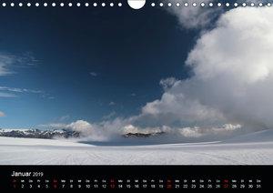 Islandabenteuer 2019 (Wandkalender 2019 DIN A4 quer)