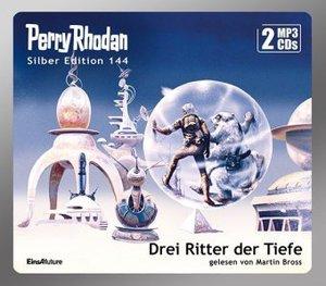 Perry Rhodan Silber Edition (MP3 CDs) 144: Drei Ritter der Tiefe