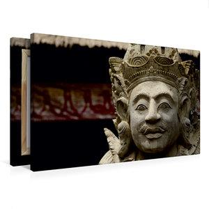 Premium Textil-Leinwand 75 cm x 50 cm quer Gottheit auf Bali