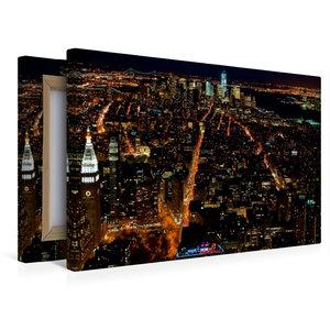 Premium Textil-Leinwand 45 cm x 30 cm quer Manhattan South / New