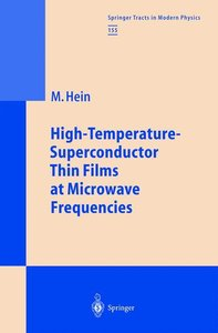 High-Temperature-Superconductor Thin Films at Microwave Frequenc