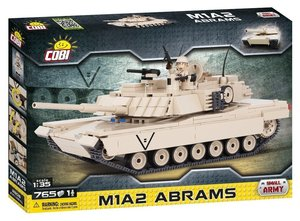 COBI 2608 - Amerikanische Hauptkampfabramme M1A2 ABRAMS, Small A