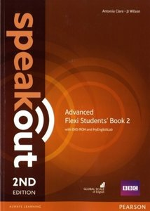 Speakout Advanced 2nd Edition Flexi Students' Book 2 Pack