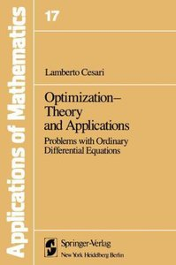 Optimization-Theory and Applications