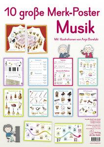 12 große Merk-Poster Musik