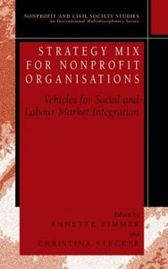 Strategy Mix for Nonprofit Organisations