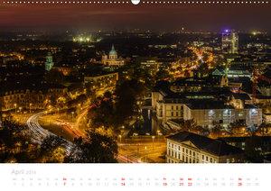 Hannover bei Nacht (Wandkalender 2019 DIN A2 quer)