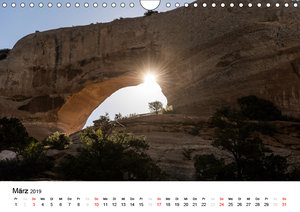 Nationalparks in Utah (Wandkalender 2019 DIN A4 quer)