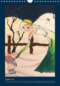 Zauberhafte Gartenfeen (Wandkalender 2019 DIN A4 hoch)