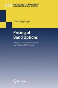 Pricing of Bond Options