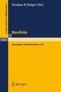 Manifolds - Amsterdam 1970