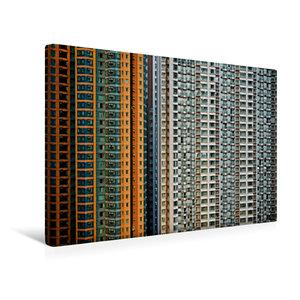 Premium Textil-Leinwand 45 cm x 30 cm quer Harbour Plaza