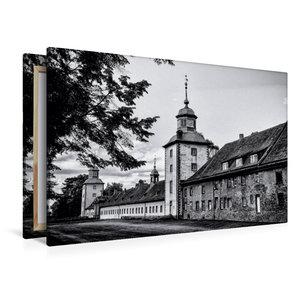 Premium Textil-Leinwand 120 cm x 80 cm quer Westseite