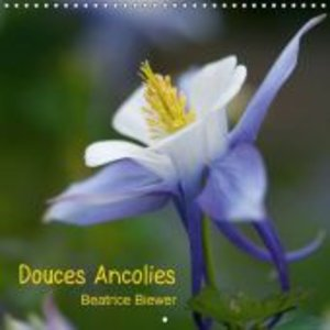 Douces Ancolies (Calendrier mural 2015 300 × 300 mm Square)