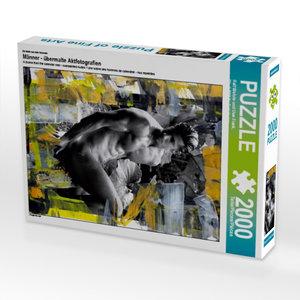Ein Motiv aus dem Kalender Männer - übermalte Aktfotografien 200