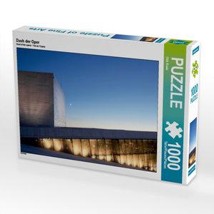 Dach der Oper 1000 Teile Puzzle quer