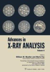 Advances in X-Ray Analysis