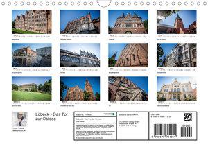Lübeck - Das Tor zur Ostsee (Wandkalender 2020 DIN A4 quer)