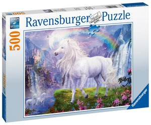 AT: Horse illustrated Puzzle 500 Teile
