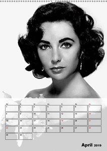 Elizabeth Taylor (Wandkalender 2019 DIN A2 hoch)