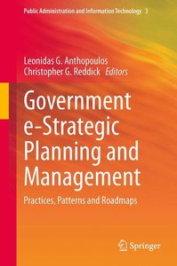 Government e-Strategic Planning and Management