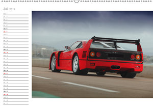 Mythos Ferrari F40 LM (Wandkalender 2019 DIN A2 quer)