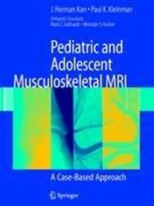 Pediatric and Adolescent Musculoskeletal MRI
