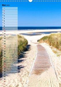 An der See Geburtstagsplaner (Wandkalender 2020 DIN A3 hoch)