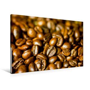Premium Textil-Leinwand 90 cm x 60 cm quer Kaffee