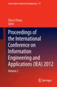 Proceedings of the International Conference on Information Engin