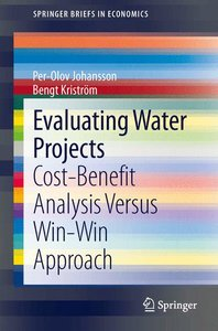 Evaluating Water Projects