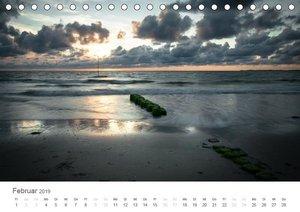 Amrum - Nordseeinsel im Wechsel der Gezeiten (Tischkalender 2019