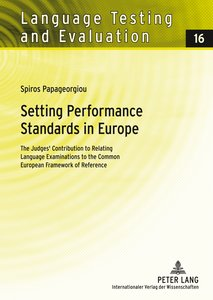 Setting Performance Standards in Europe