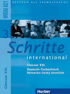 Schritte international 3. Glossar XXL Deutsch-Tschechisch