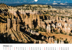 Nationalparks in Utah (Wandkalender 2019 DIN A3 quer)