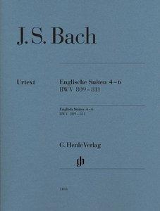 Englische Suiten 4-6, BWV 809-811