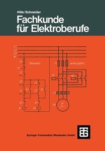 Fachkunde für Elektroberufe