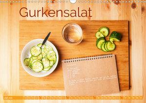 Einfache vegane Rezepte (Wandkalender 2020 DIN A3 quer)